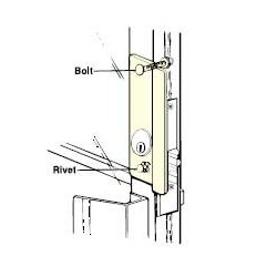 Don-Jo GLP-307 LHR Latch Protector