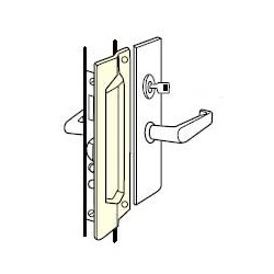 Don-Jo MLP-111-EBF Latch Protector, Satin Stainless Steel Finish
