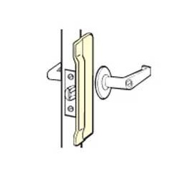 Don-Jo CLP-110 Latch Protectors, Satin Stainless Steel Finish