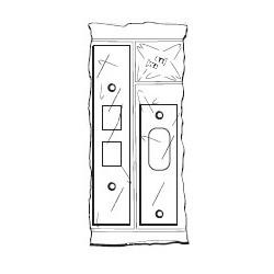 DON-JO FBRK-2 Filler Plate Kit