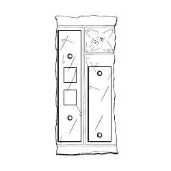 Don-Jo FBRK-3 Filler Plate Kit, Prime Coat Finish