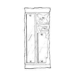 Don-Jo FPK-86 Filler Plate Kit, Prime Coat Finish