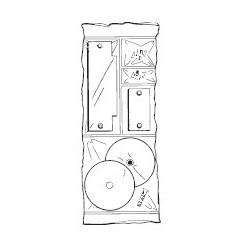 Don-Jo FPK-161 Filler Plate Kit, Prime Coat Finish