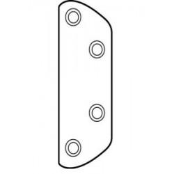 Rockwood 603 Clear Plastic Shim for 603 Cast Aluminum Door Guard