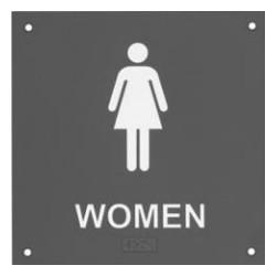 Rockwood BF685 BF Series ADA Bathroom Restroom Sign