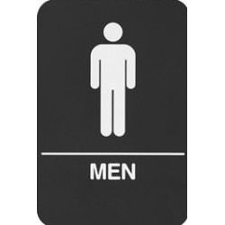 Rockwood BFM684 BFM Series ADA Molded Plastic Bathroom Restroom Exit Sign