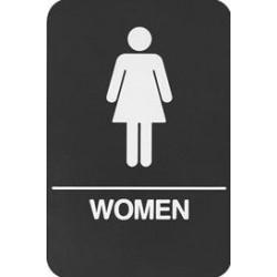 Rockwood BFM685 BFM Series ADA Molded Plastic Bathroom Restroom Sign
