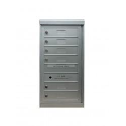 2B Global Commercial Mailbox 6 Single Height Tenant Door -Flex Series S6