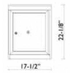 2B Global Commercial Mailbox 1 Parcel Locker Door -Flex Series P1