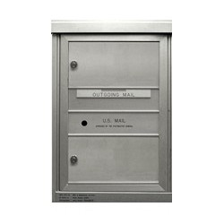 2B Global Commercial Mailbox 2 Double Height Tenant Door -ADA48 Series SD2