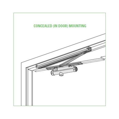 Lcn 3130 Series Concealed Mount Door Closer