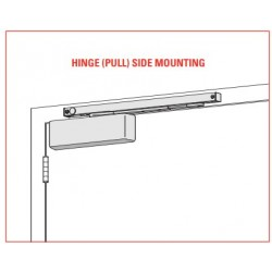 LCN-4040SE Push Side Mounting Single-Point Hold Open Door Closer