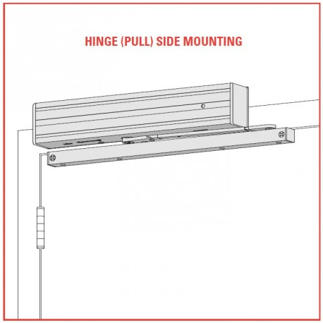 Lcn 4310me 4314me Pull Side Mounting Multi Point Hold Open