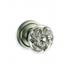 Omnia 232-00 Ornate Floral Door Knobset