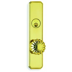 Omnia D11405 Decorative Fancy Deadbolt Knob Entry Door Locksets
