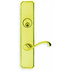 Omnia D11794 Classic 794 Lever Deadbolt Entry Door Lockset