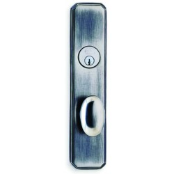 Omnia D11860 Contemporary Egg Door Knob Entry Door Locksets