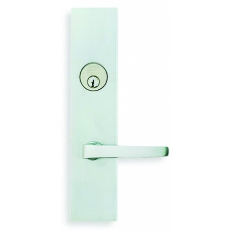 Omnia D12036 Contemporary Lever Entry Door Lockset