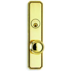 Omnia D24441 Victorian Rope Door Knob Entry Door Locksets