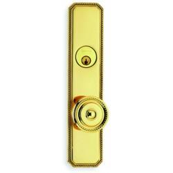 Omnia D25430 Victorian Beaded Door Knob Entry Door Locksets