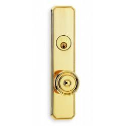 Omnia 11433 Decorative Door Knob Mortise Lockset