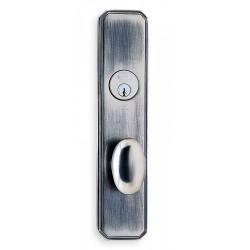 Omnia 11860 Contemporary Egg Door Knob Mortise Lockset