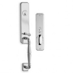 Omnia Manor 860 Entrance Handleset (US15)