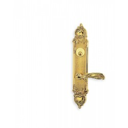 Omnia 52233 Decorative Door Lever Mortise Lockset