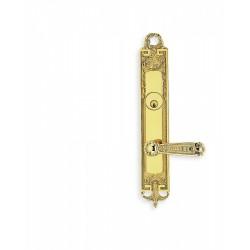 Omnia 54229 Fancy Door Lever Mortise Lockset