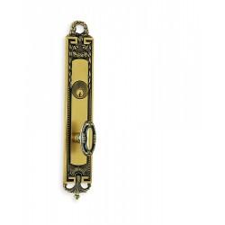 Omnia 54294 Decorative Fancy Knob Mortise Lockset