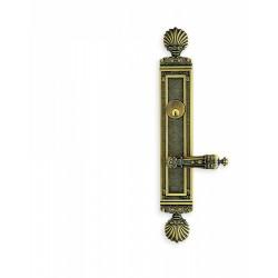 Omnia 55231 Decorative Door Lever Mortise Lockset