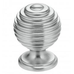 """Omnia 9107-30 Solid Brass Retro Cabinet Knob 1-3/16"""""""