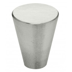 """Omnia 9181-20 Knob-3/4"""" Stainless Steel Contemporary Cabinet Knobs (US32D)"""
