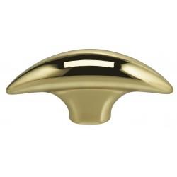 "Omnia 9461-48 Knob 1-7/8"" Solid Brass Cabinet Hardware"