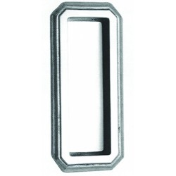 "Omnia 654 Traditional Flush Pull, 4"" Long"