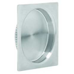 "Omnia 7504-52 2-3/8"" Square Cup Pull (US32D)"