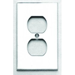 Omnia 8012-R Traditional Switchplate - Receptacle
