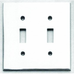 Omnia 8012-D Traditional Switchplate - Double