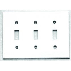 Omnia 8012-T Traditional Switchplate - Triple