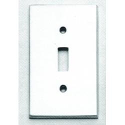 Omnia 8012-GFS Traditional Switchplate - Single w / GFCI