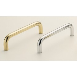 Omnia 7642-89 Solid Brass Smooth Handle Pull Cabinet Hardware
