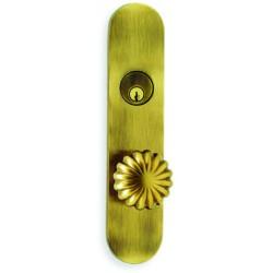 """Omnia D3405 Deadbolt Locksets 2-3/8"""" Diameter Knob"""