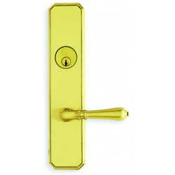 Omnia D11752 Classic Tulip Lever Entry Door Lockset
