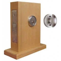 Omnia 041-NAC Traditional Mortise Deadlock - Double Cylinder