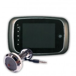 FHI SecureView SV-2 Platinum Security Front Door Peephole Camera & Video Recorder