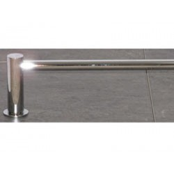 "Top Knobs Hopewell Bath 24"" Single Towel Rod"