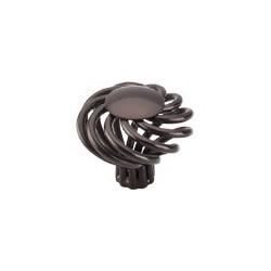 "Top Knobs Large Round Twist Knob 1 1/2"""