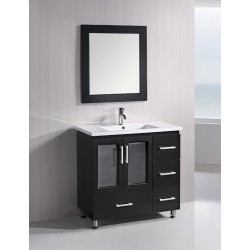"Design Element Stanton 36"" Single Sink Vanity Set"