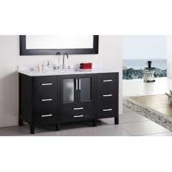 "Design Element Stanton 60"" Single Sink Vanity Set"