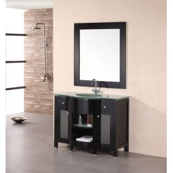 "Design Element Rome 43"" Single Sink Vanity Set"